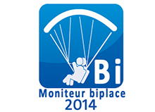 Label FFVL Biplace 2014